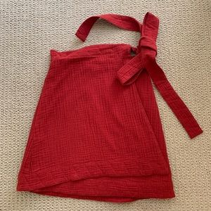 Urban Outfitters (Fifth Label) Red Mini Skirt